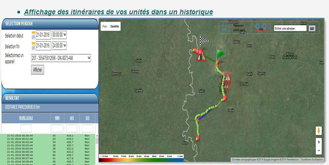 Isi track professionnel flotte véhicules